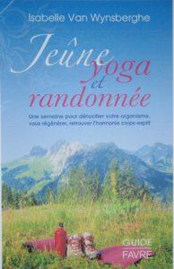 livre Jeûne yoga et randonnée